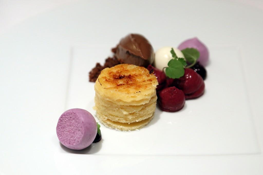 dessert cassis