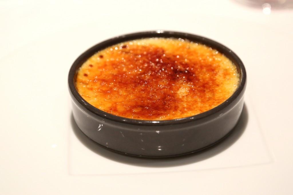 dessert creme brulee