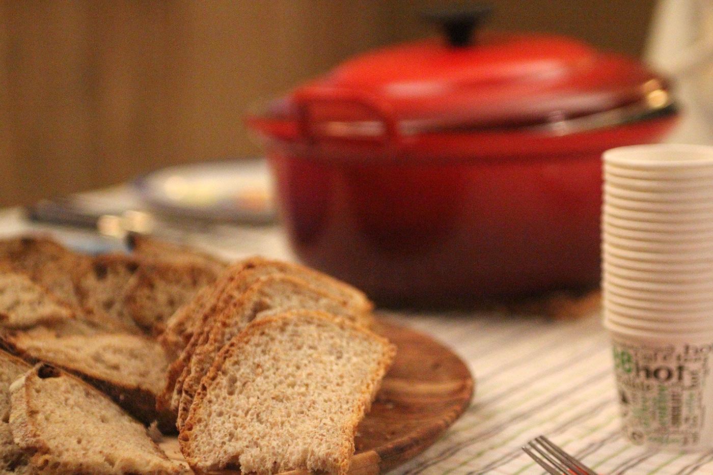 cider-maken-avondeten-brood