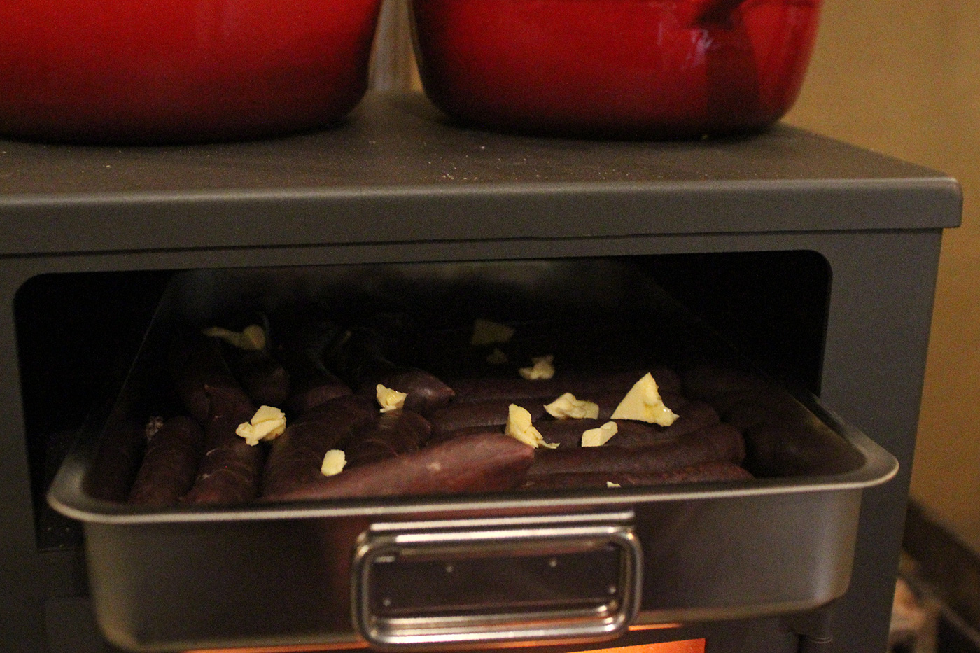 cider-maken-avondeten-worsten