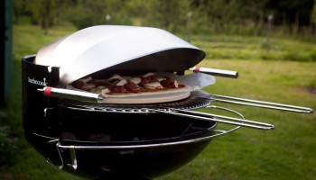 barbecook major black dome