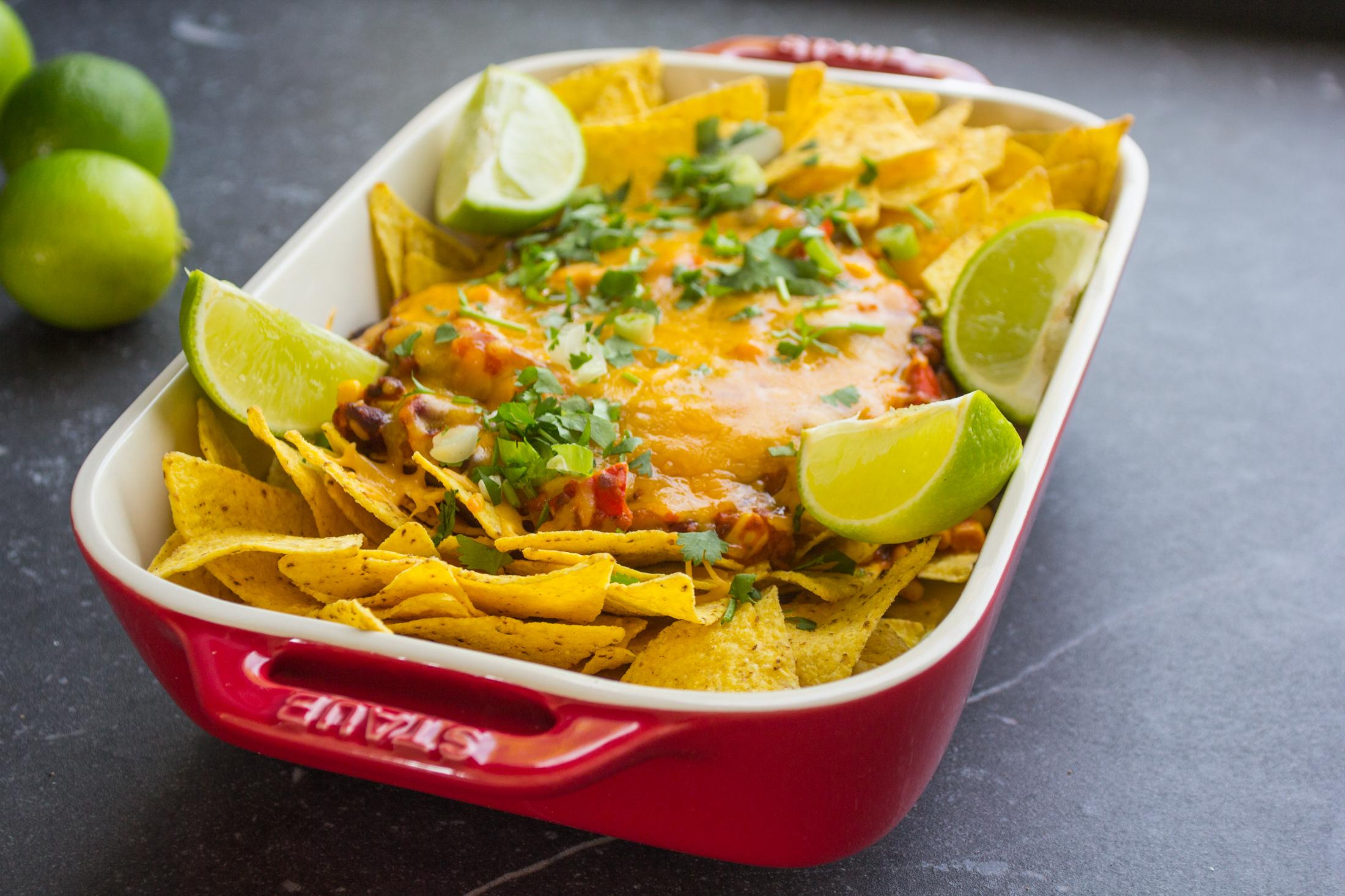 Nacho's chili sin carne