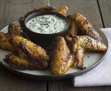 Sticky chickenwings