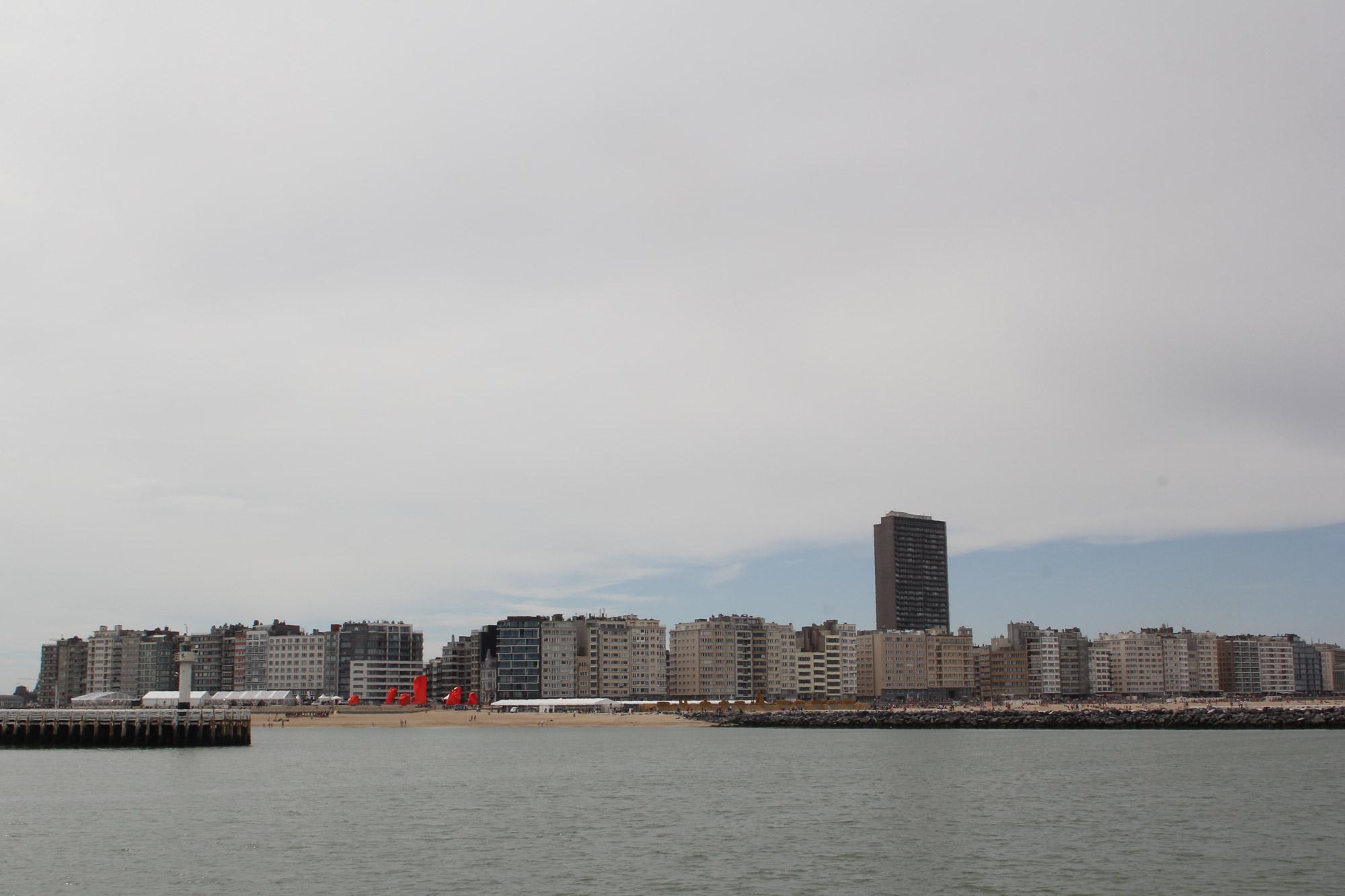 Oostende stad aan zee