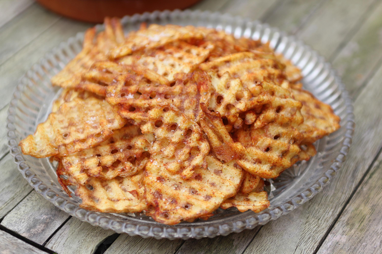 zelfgemaakte chips
