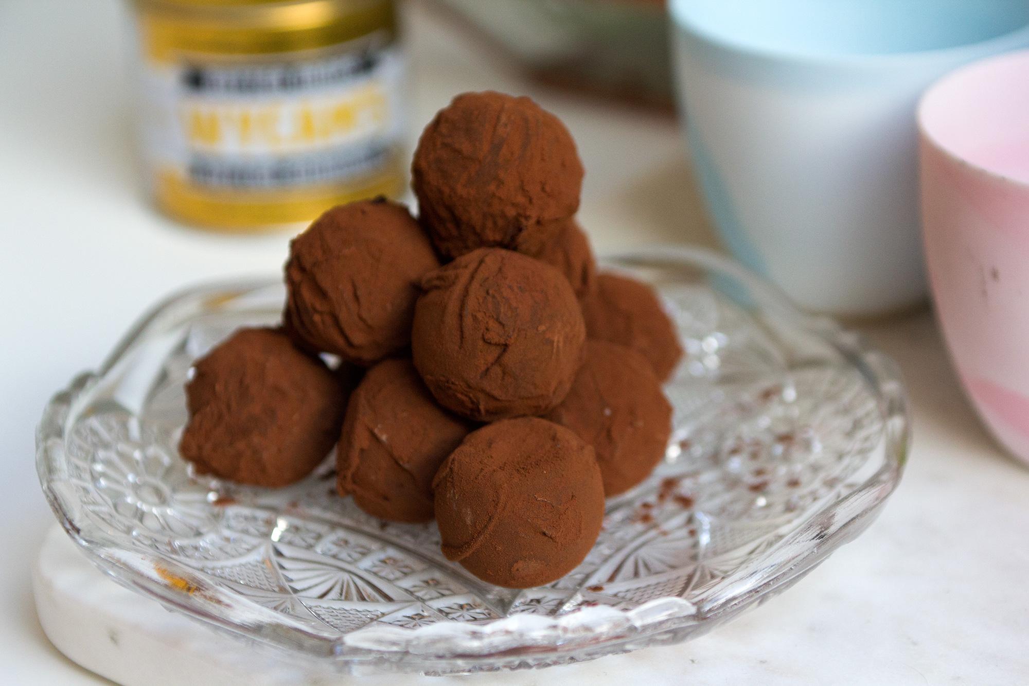 Wycam's boterbollen met hazelnoot