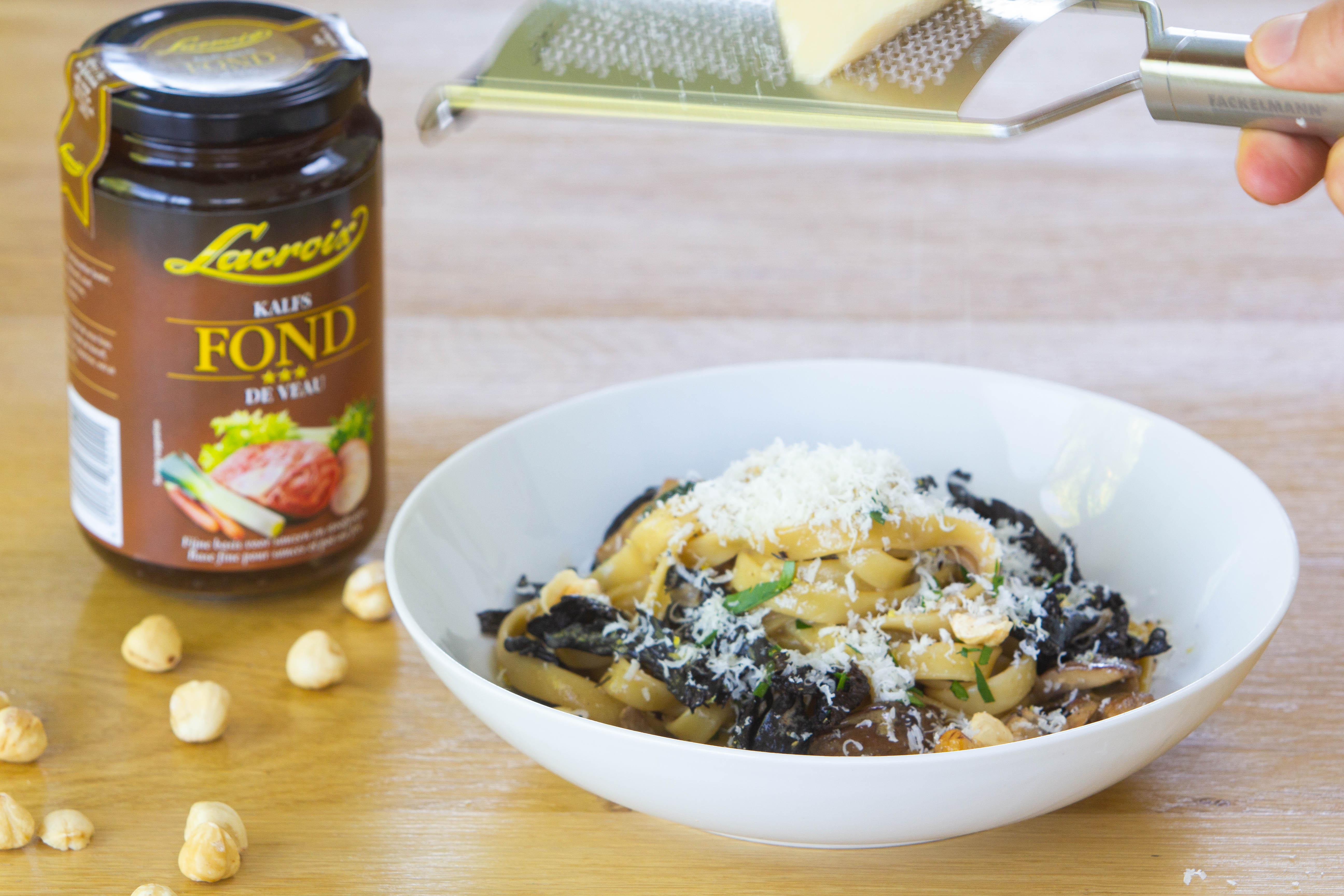Kip met pasta en champignonsaus (7 van 15)